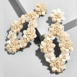 "Baublebar || ""Tulipa"" Sequin Drop Earrings"